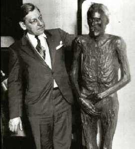 John Wilkes Booth mummy