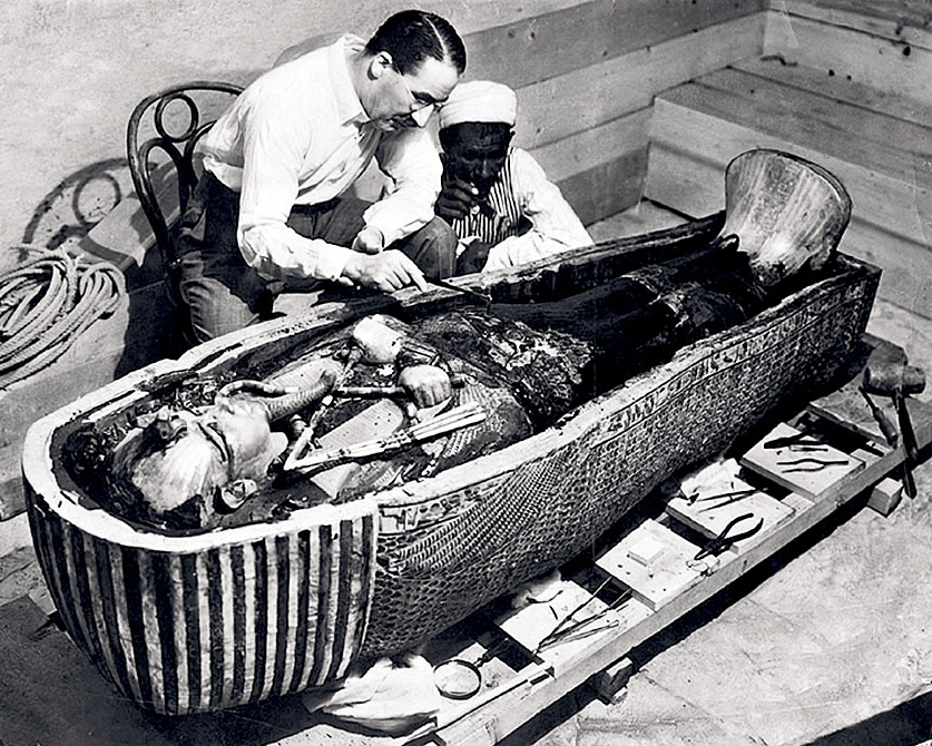 King Tut Tomb Discovery: Today In 1922….. King Tut's Tomb Is Discovered…1st Sealed