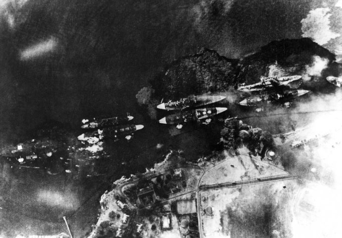 aerial-view-of-battleship-row-next-to-ford-island-after-japanese-planes-launched-a-torpedo-attack