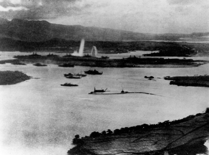 aerial-view-of-the-initial-blows-struck-against-american-ships-as-seen-from-a-japanese-plane-over-pearl-harbor