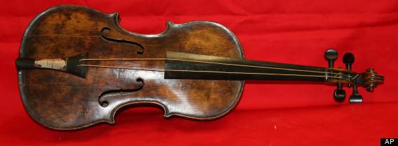 Britain Titanic Violin